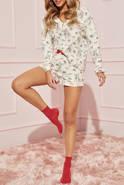 Piżama Rosie - komplecik w odcieniu śmietankowym